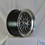 Rota Wheels Flush 1790 5X114.3 42 73 Hyperblack with Polish Lip
