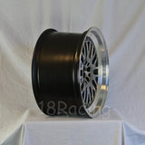 Rota Wheels Flush 1790 5X100 42 73 Hyperblack with Polish Lip