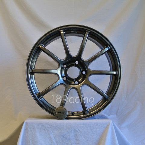 Rota Wheels G Force 1885 5x100 48 56.1 Hyperblack