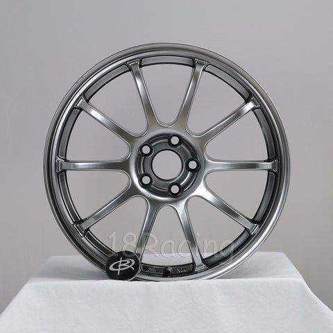 Rota Wheels G Force 1780 5x100 48 56.1 Hyperblack