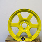 Rota Wheels Grid 1565 4X100 38 67.1 Highlight Yellow