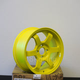 Rota Wheels Grid 1570 4X100 38 67.1 Highlight Yellow