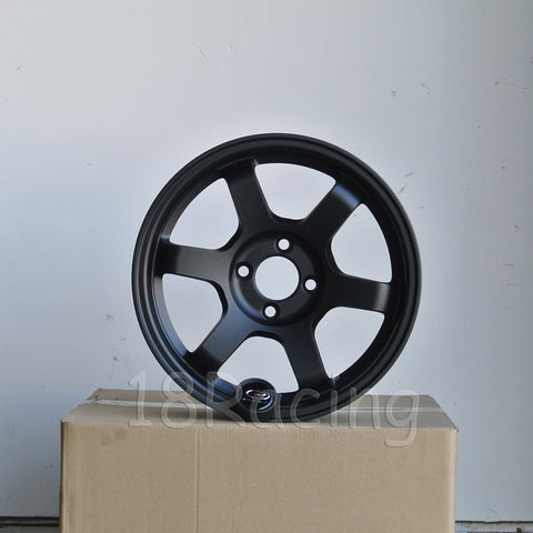Rota Wheels Grid 1670 4X100 27 56.7 Flat Black