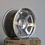 Rota Wheels Grid 1680 4X100 20 67.1 Full Polish Silver