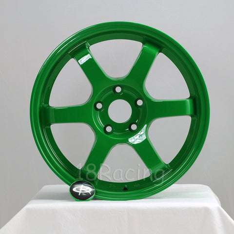 Rota Wheels Grid 1565 4X100 38 67.1 Absolute Green