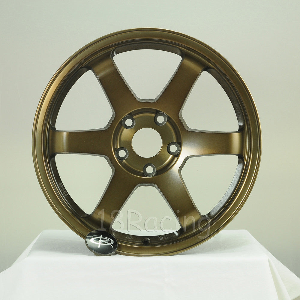 Rota Wheels Grid 1780 5x100 35 73 Full Royal Sport Bronze