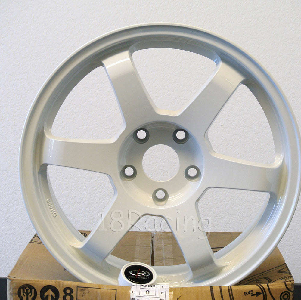 Rota Wheels Grid 1780 5x114.3 35 73 White