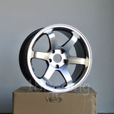 Rota Wheels Grid 1790 5x114.3 25 73 Full Polish Yamaha Black