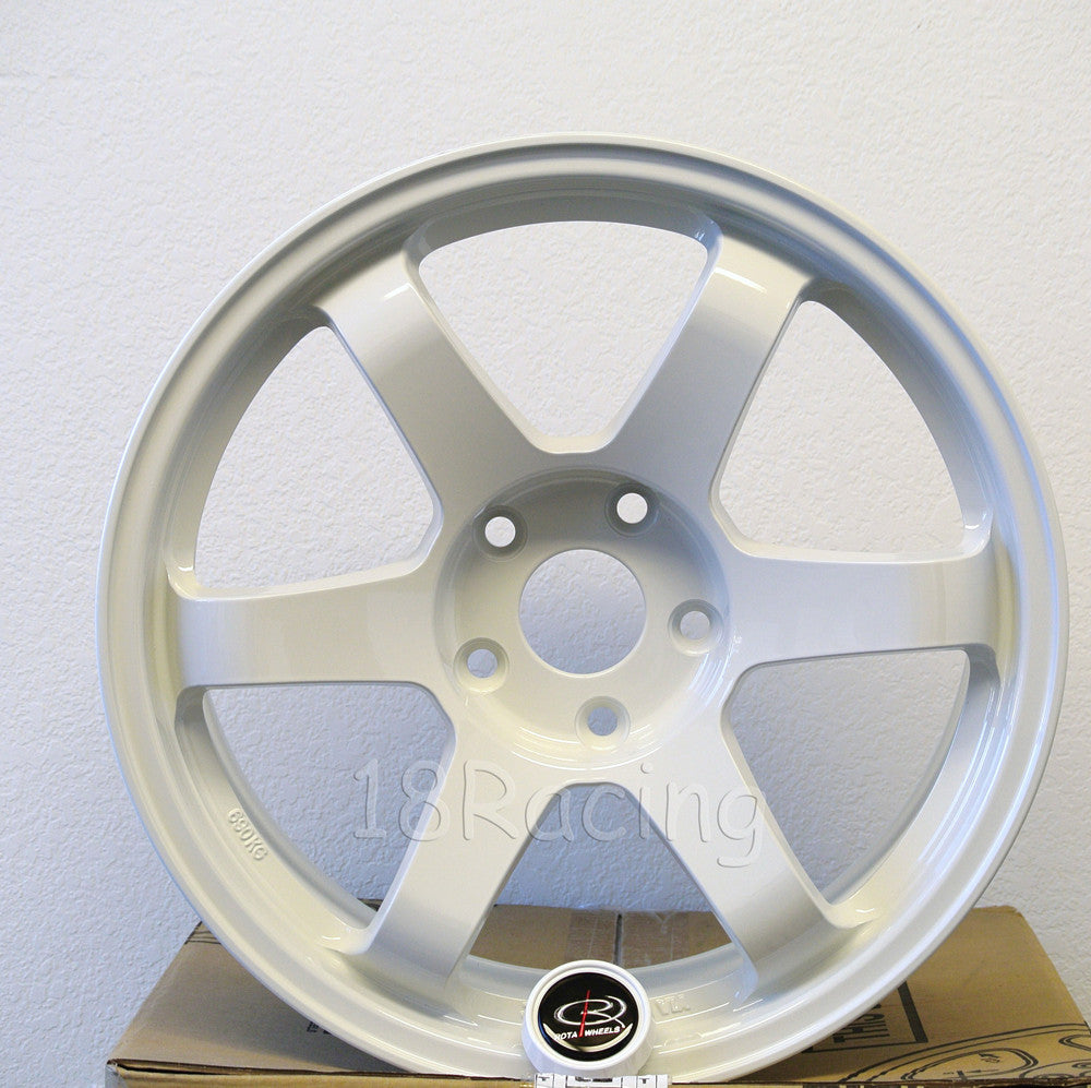 Rota Wheels Grid 1790 5x114.3 42 73 White