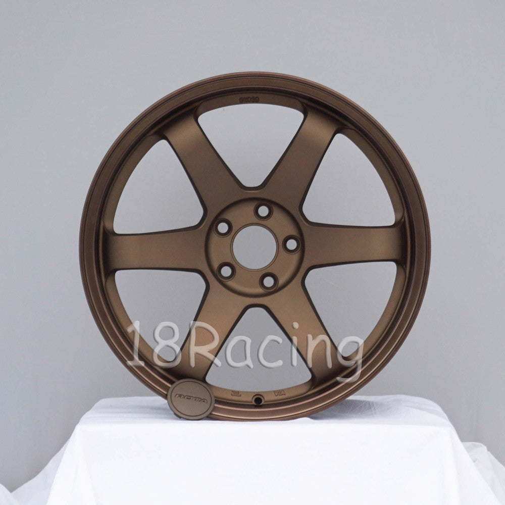 Rota Wheels Grid 1895 5x114.3 38 73 Speed Bronze