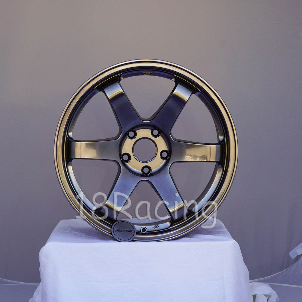 Rota Wheels Grid 1895 5x114.3 30 73 Hyperblack