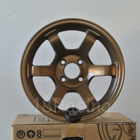 Rota Wheels Grid Concave 1570 4X100 20 67.1 Full Royal Sport Bronze
