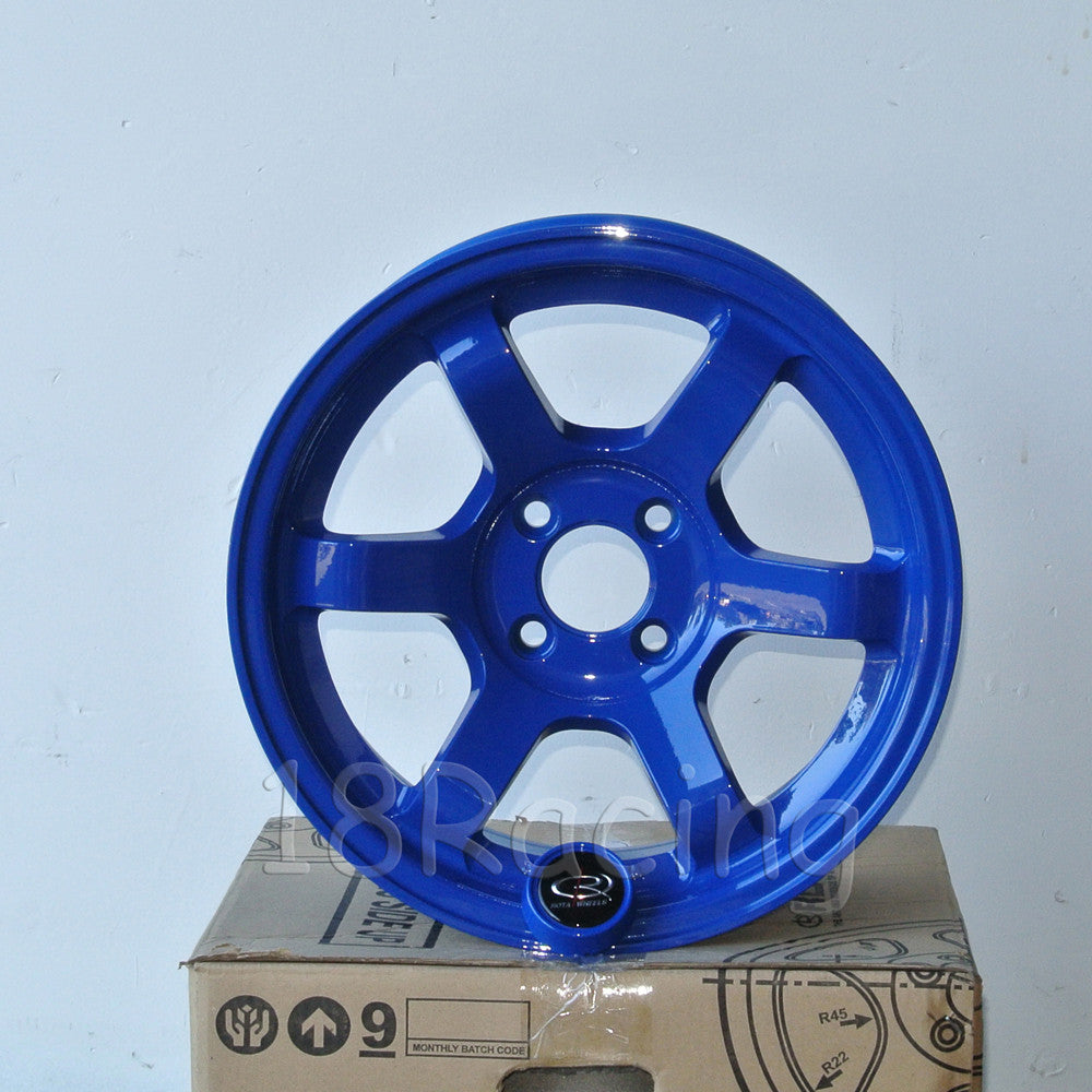 Rota Wheels Grid Concave 1580 4X100 20 67.1 Fork Blue