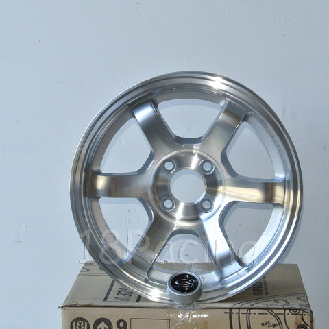 Rota Wheels Grid Concave 1590 4X100 36 67.1 Full Polish Silver