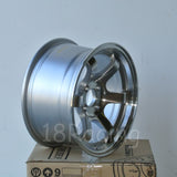 Rota Wheels Grid Concave 1580 4X100 20 67.1 Full Polish Silver