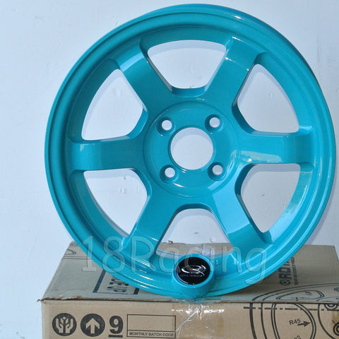 Rota Wheels Grid Concave 1580 4X100 20 67.1 Teal Blue
