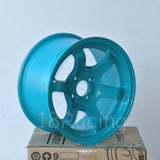 Rota Wheels Grid Concave 1590 4X100 36 67.1 Teal Blue