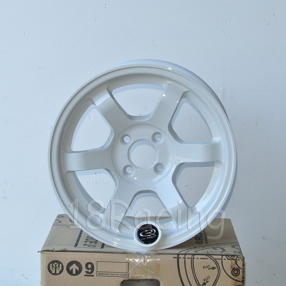 Rota Wheels Grid Concave 1570 4X100 20 67.1 White 12.9 Lbs