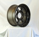 Rota Wheels Grid Type X 1680 6X139.7 5 110 Flat Gunmetal With Black Lip