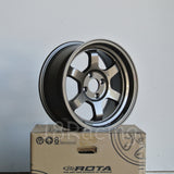 Rota Wheels Grid V 1570 4X100 20 67.1 Bronze