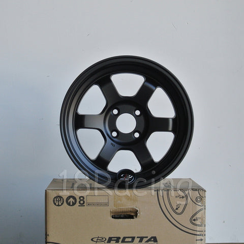 Rota Wheels Grid V 1570 4X100 0 67.1 Satin Black