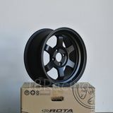 Rota Wheels Grid V 1580 4X100 0 67.1 Flat Black