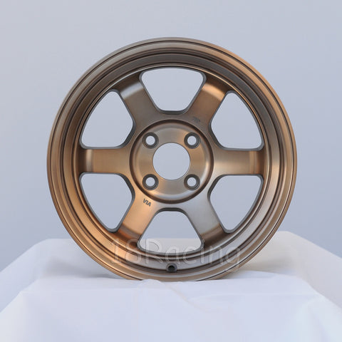 Rota Wheels Grid V 1570 4X100 20 67.1 Full Royal Sport Bronze