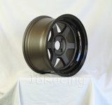 Rota Wheels Grid V 1580 4X114.3 0 73 Flat Gunmetal with Yamaha Black Lip