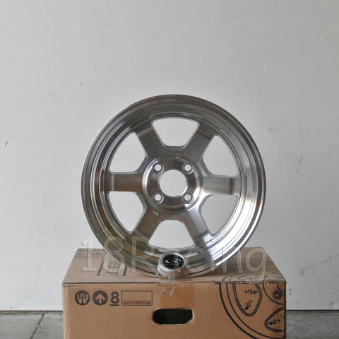 Rota Wheels Grid V 1570 4X100 20 67.1 Full Polish Silver