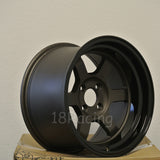 Rota Wheels Grid V 1680 4X114.3 0 73 Flat Gunmetal with Yamaha Black Lip
