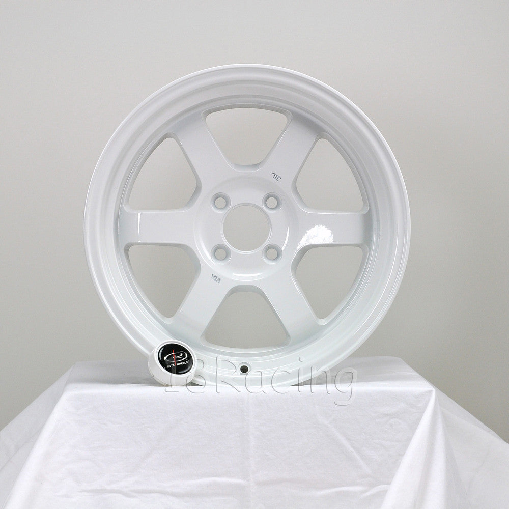 Rota Wheels Grid V 1570 4X100 20 67.1 White