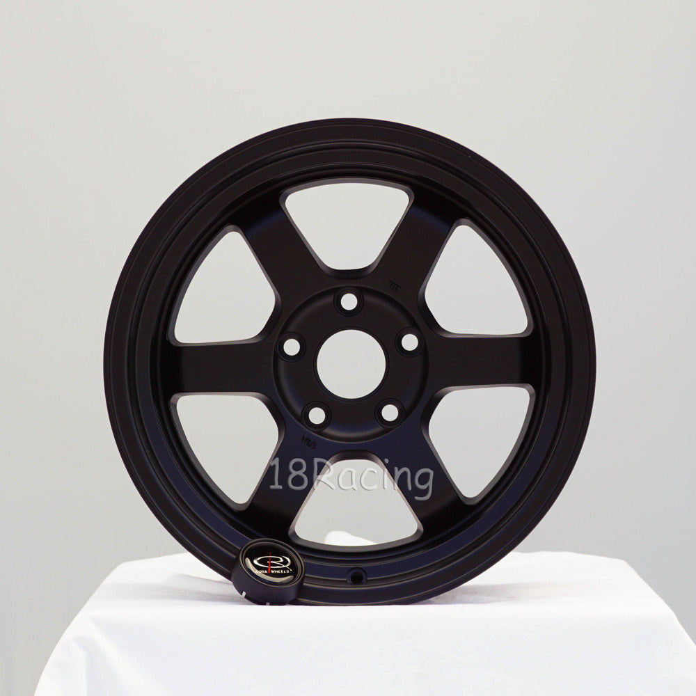 Rota Wheels Grid V 1680 5X114.3 20 73 Flat Black