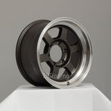 Rota Wheels Grid Type X 1680 6X139.7 0 110 Gunmetal With Polish Lip