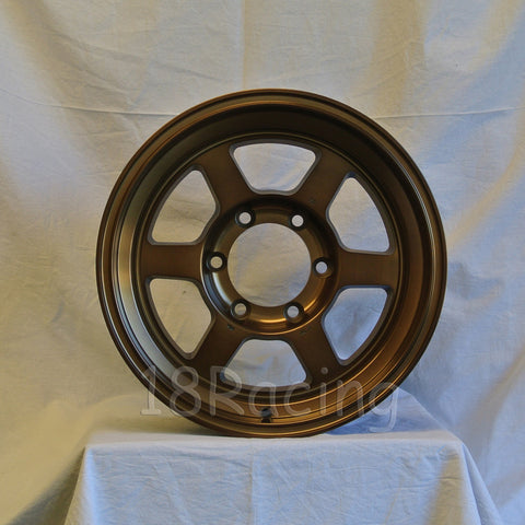 Rota Wheels Grid Type X 1680 6X139.7 0 110 Speed Bronze