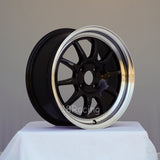 Rota Wheels GT3 1570 4X100 40 67.1 Black with Polish Lip