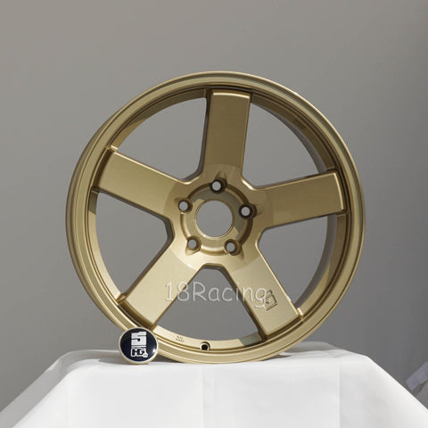 Rota Wheels Huck Gee 1885 5x100 38 73 Gold