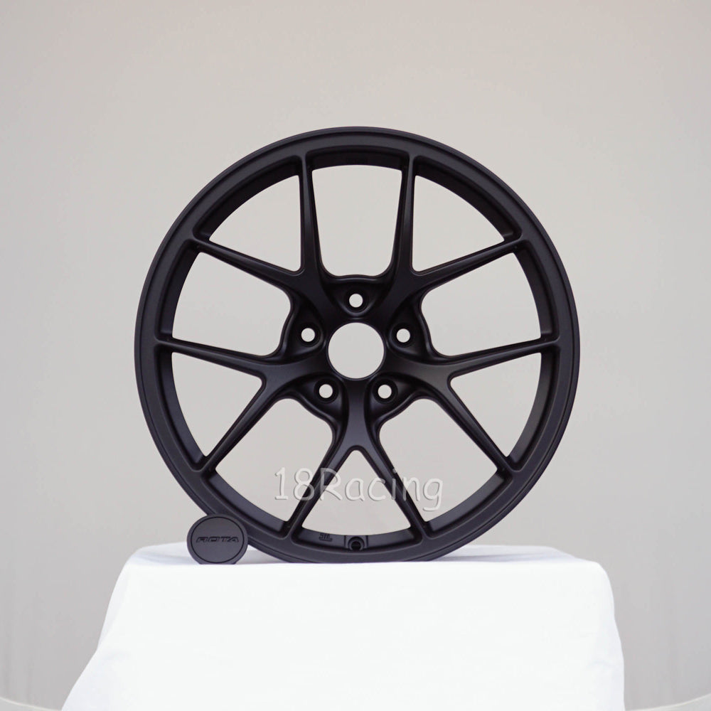 Rota Wheels KB R 1895 5x100 38 73 Flat Black