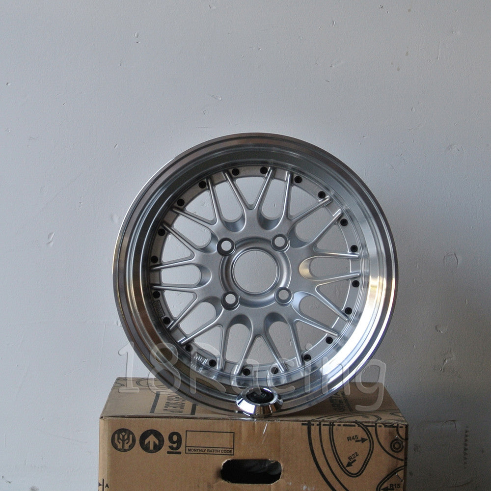 Rota Wheels Kensei 1590 4X114.3 0 73 Silver with Polish Lip