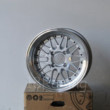 Rota Wheels Kensei 1580 4X114.3 0 73 Silver with Polish Lip