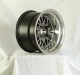Rota Wheels Kensei 1590 4X114.3 -15 73 Hyperblack with Polish Lip