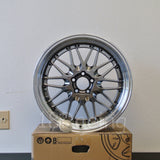Rota Wheels Kensei 1895 5X114.3 25 73 Hyperblack with Polish Lip