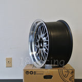 Rota Wheels Kensei 1895 5X100 35 73 Hyperblack with Polish Lip