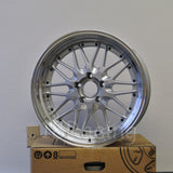 Rota Wheels Kensei 1895 5X114.3 25 73 Silver with Polish Lip