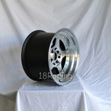 Rota Wheels Kyusha 1590 4X100 0 67.1 Full Polish Black