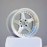 Rota Wheels Kyusha 1790 4X114.3 10 73 Full Polish Silver