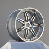 Linea Corse Wheels Dyna 1910 5X114.3 38 73 Full Polish Silver