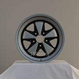 Linea Corse Wheel PSD 17X7.5  5X130  35 71.6 FOX 1 Gray With Matte Black No Cap