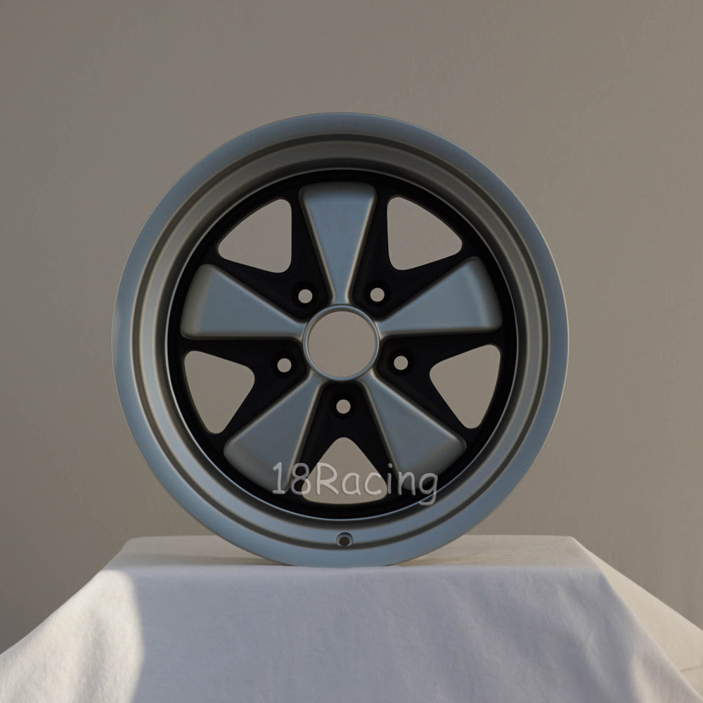 Linea Corse Wheel PSD 17X9  5X130 16  71.6 FOX 1Gray With Matte black  No Cap