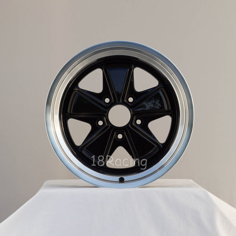 Linea Corse Wheel PSD 17X11   5X130 16  71.6 Glossy Black With Polish Lip No Cap