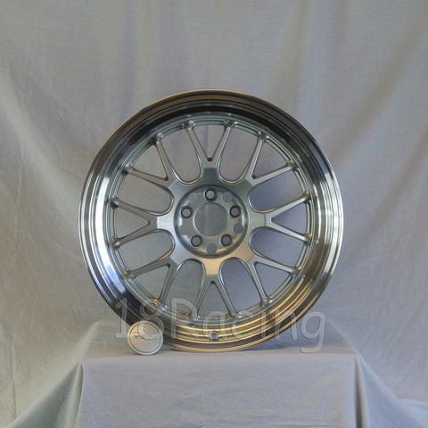 Rota Wheels MXR-R 1895 5x100 38 73 Silver with Polish Lip